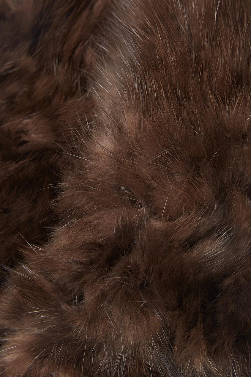 Варежки из меха соболя