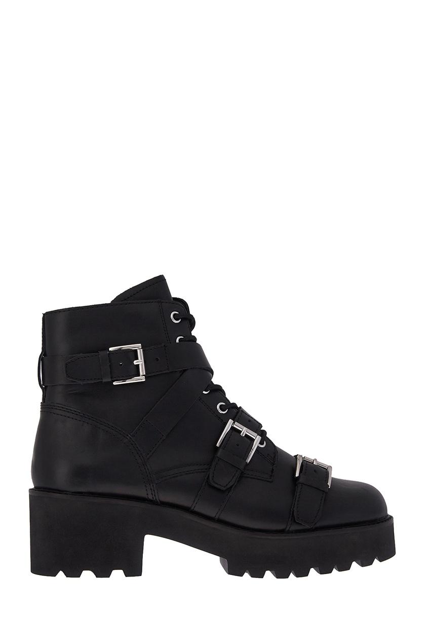 ASH Кожаные ботинки с ремешками Razor ботинки кожаные с кисточками