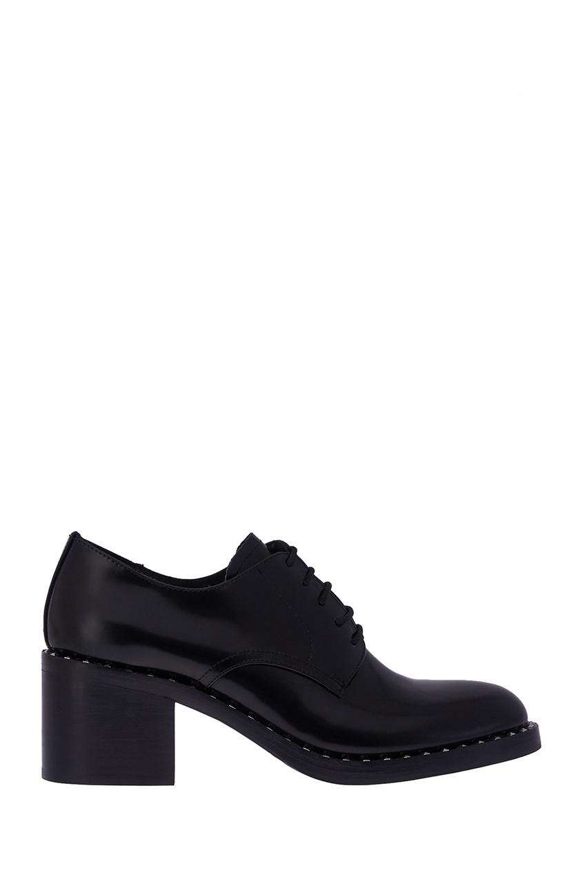 Кожаные ботинки с заклепками Why Not