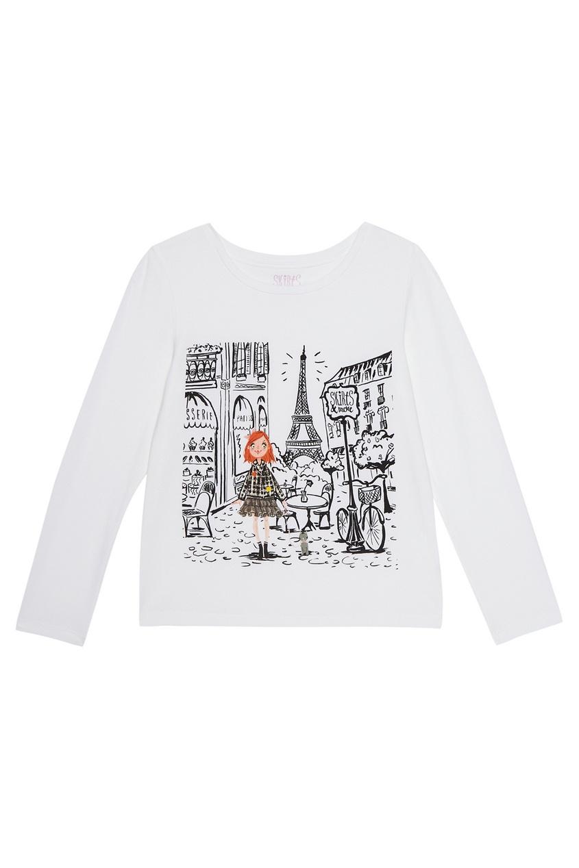 Хлопковый лонгслив Paris