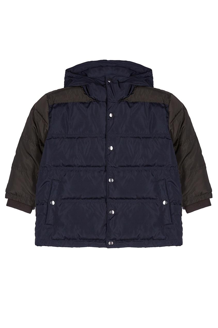 Купить со скидкой Комбинированная куртка