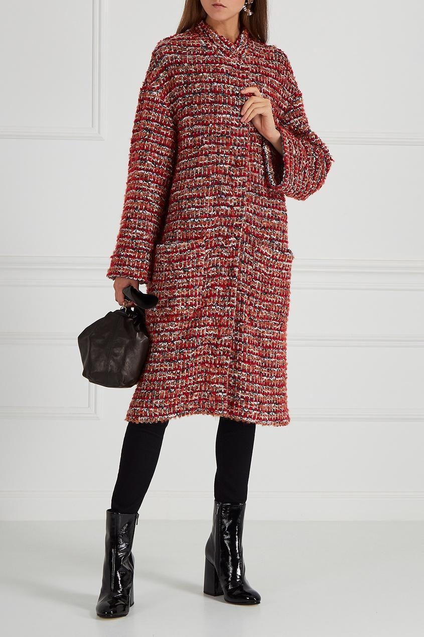 Купить со скидкой Пальто из шерстяного букле Moscow-Paris