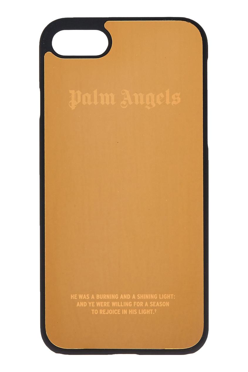 Золотистый чехол для iPhone 7
