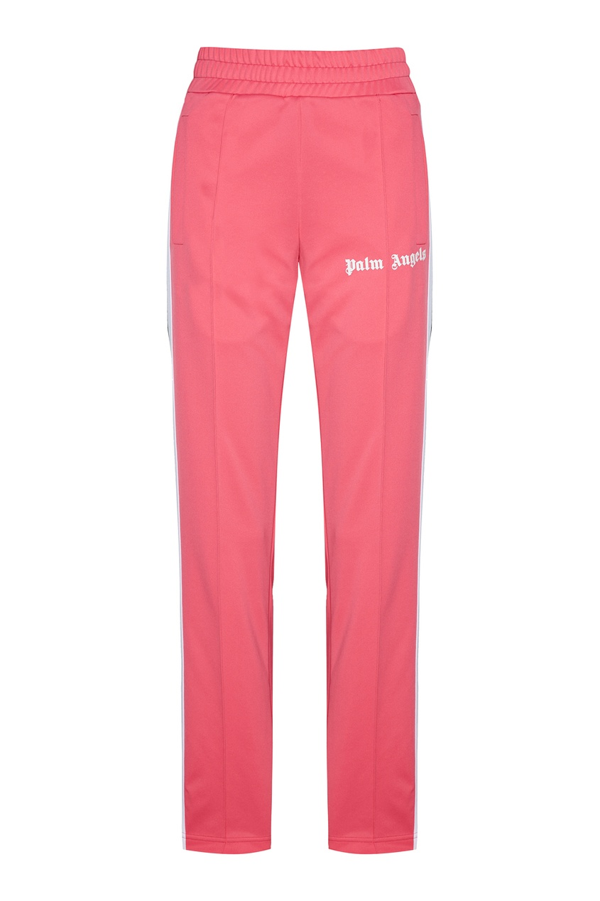 Купить со скидкой Розовые брюки с лампасами