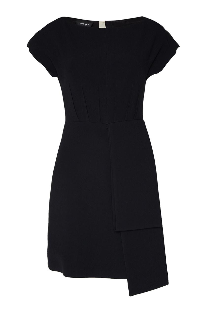 Rochas Платье со складкой сбоку