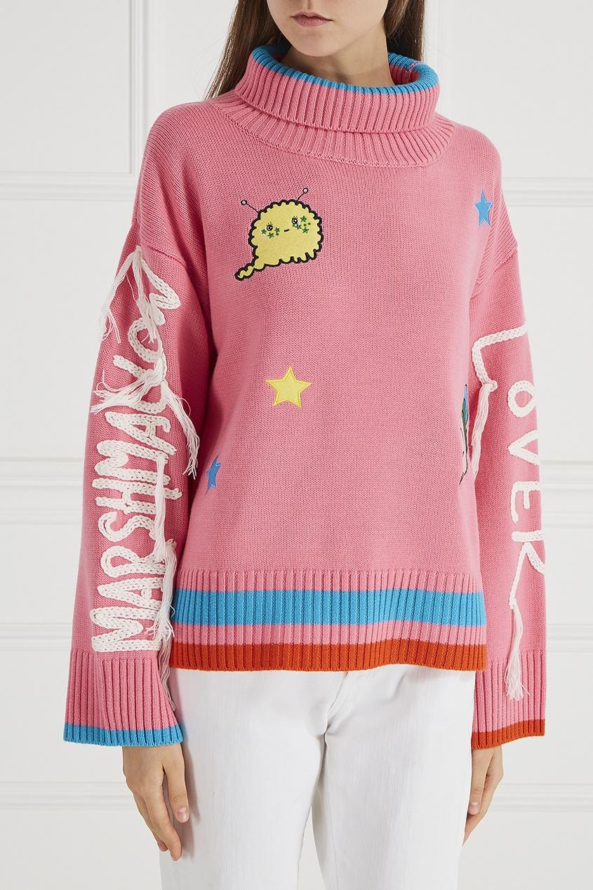 Mira Mikati Шерстяной свитер с нашивками часы mira