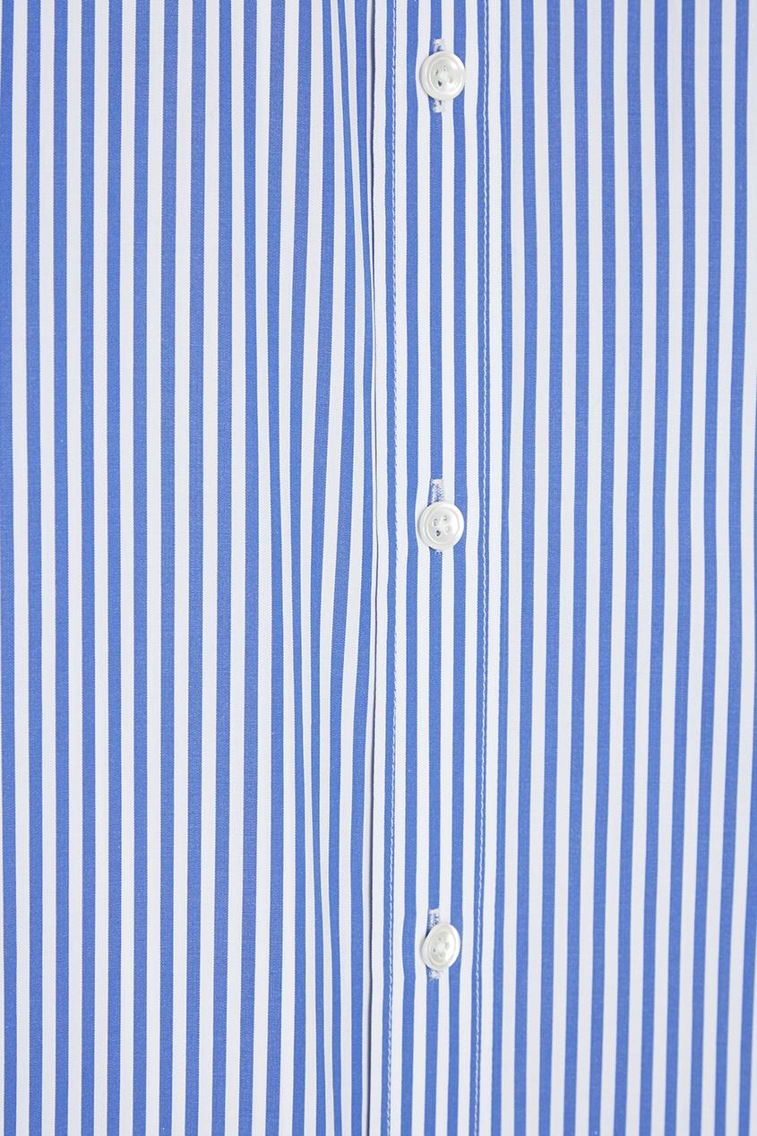 цена Joseph Хлопковая рубашка в полоску онлайн в 2017 году