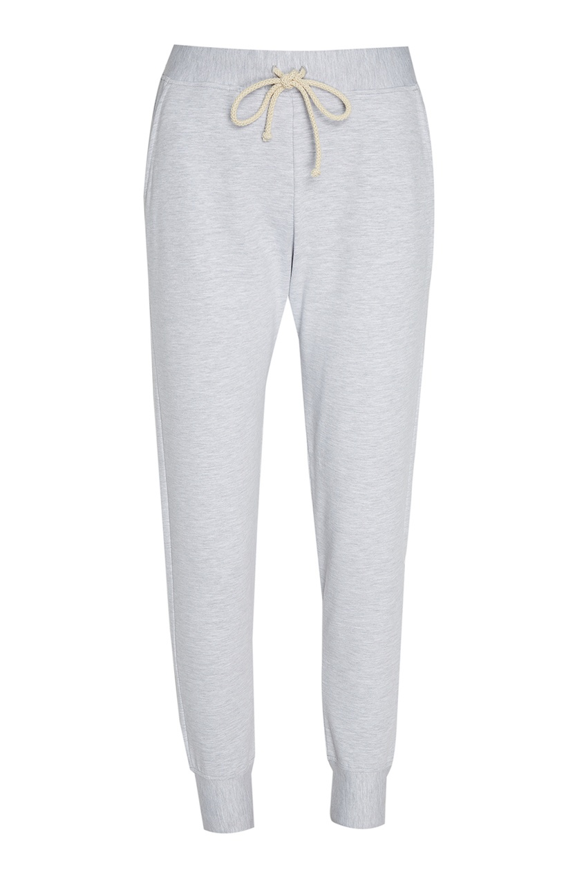 LISA&LEO Меланжевые брюки из хлопка