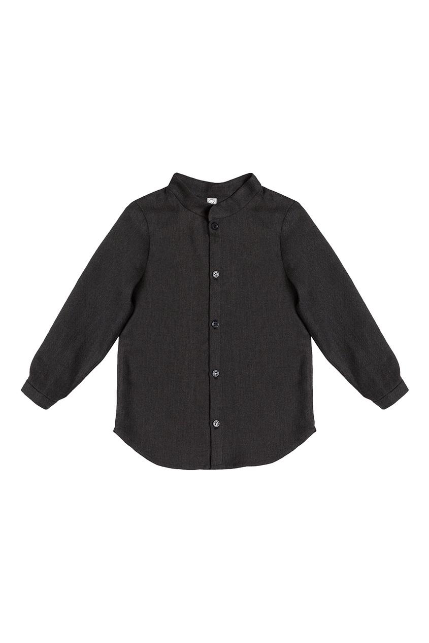 Серая рубашка из шерсти LU KIDS