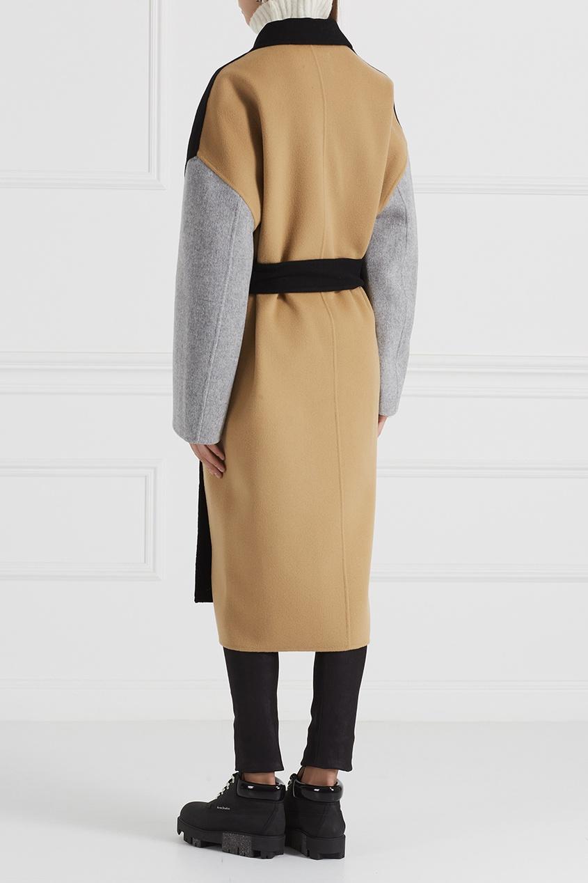 Пальто из шерсти и кашемира Cales