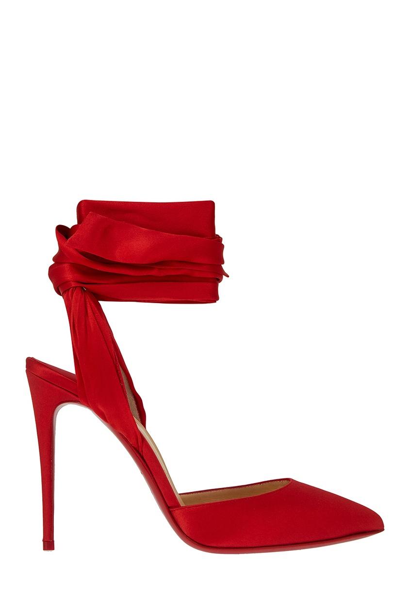 Шелковые туфли Douce Du Desert 100