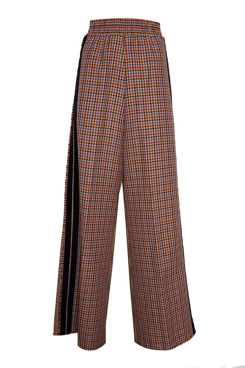 Golden Goose Deluxe Brand Шерстяные брюки с ламапасами