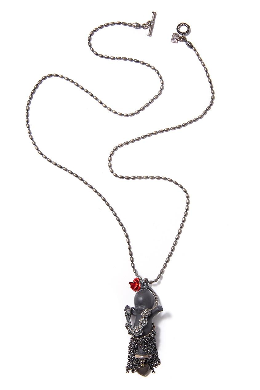 Gem Kingdom Серебряное колье Aloha Baby алмазный брусок extra fine 1200 mesh 9 micron dmt d8e