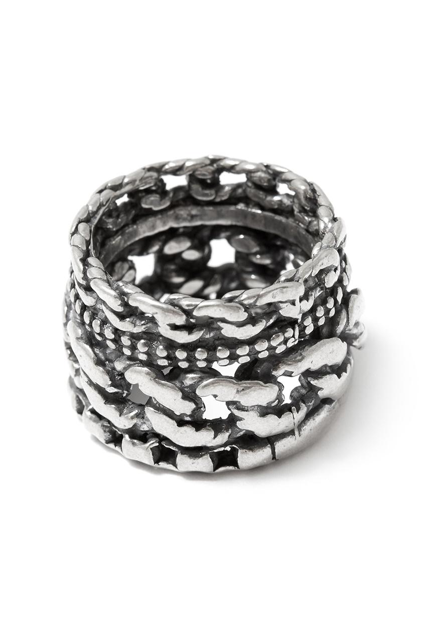 Gem Kingdom Серебряное кольцо с гравировкой