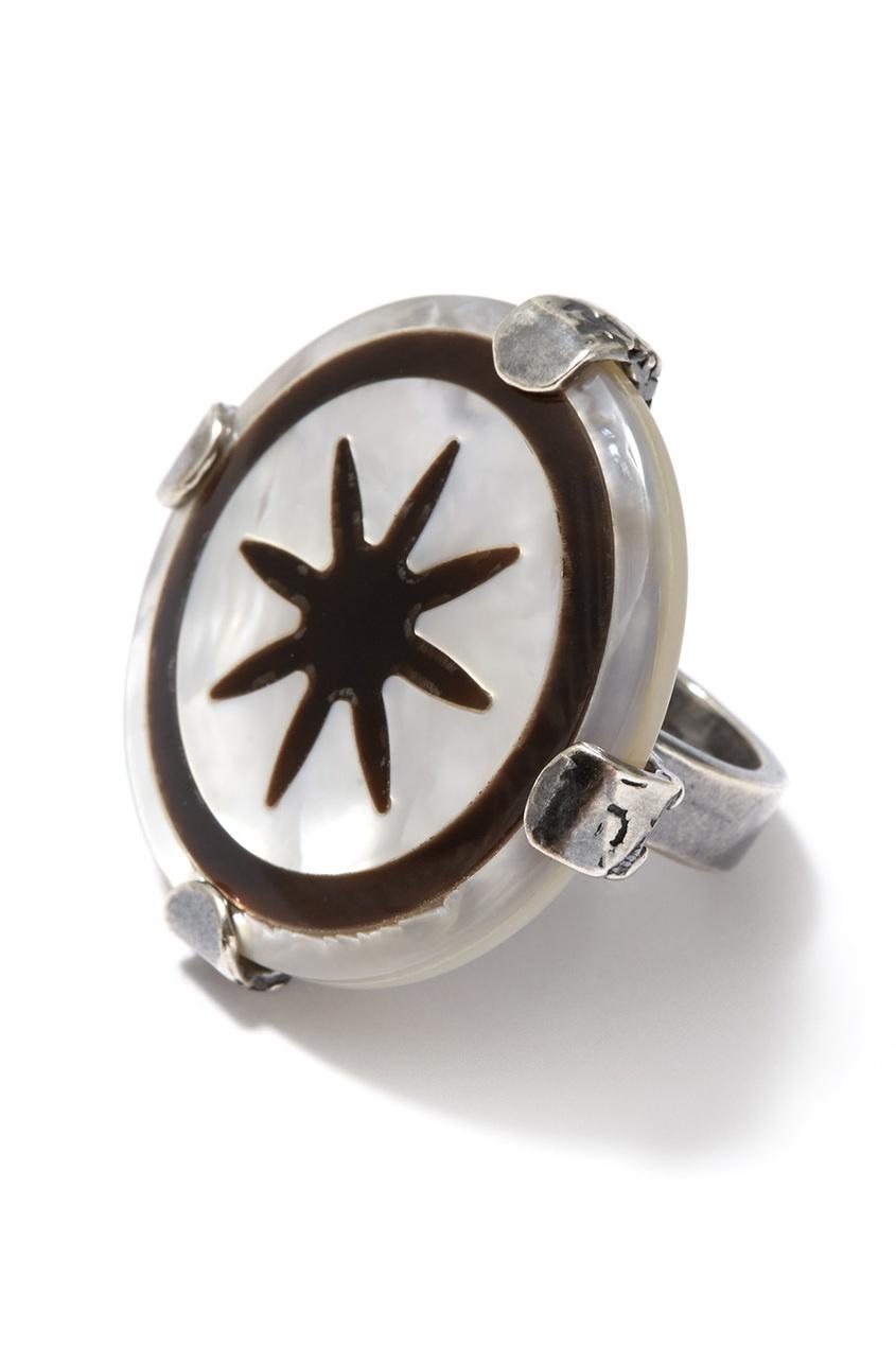 Gem Kingdom Кольцо с перламутром