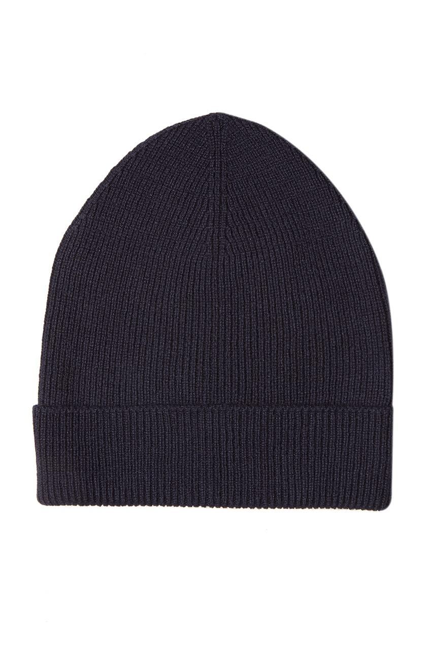 мужская шапка prada, синяя