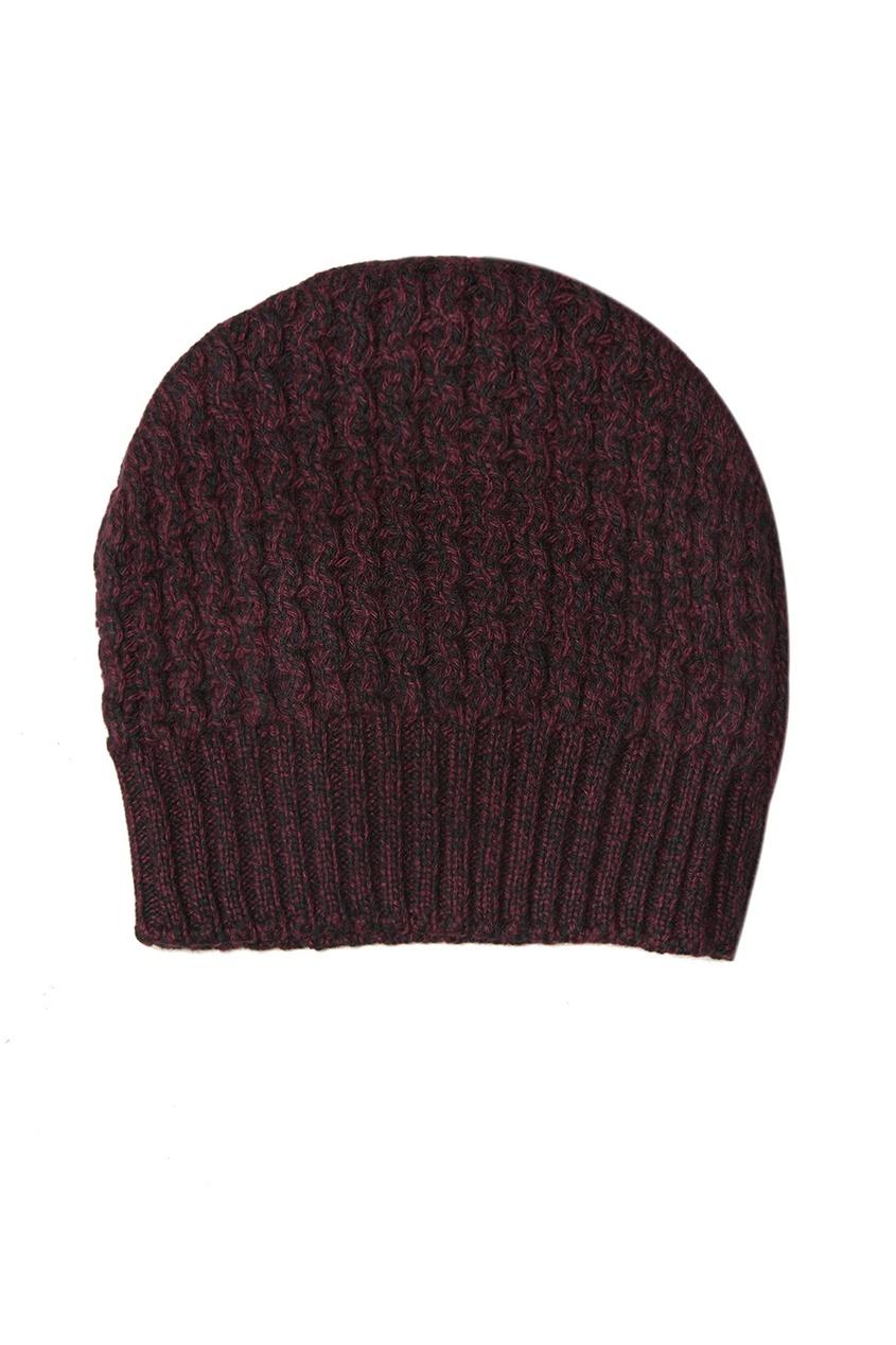 Prada Фактурная вязаная шапка шапка вязаная button blue шапка вязаная