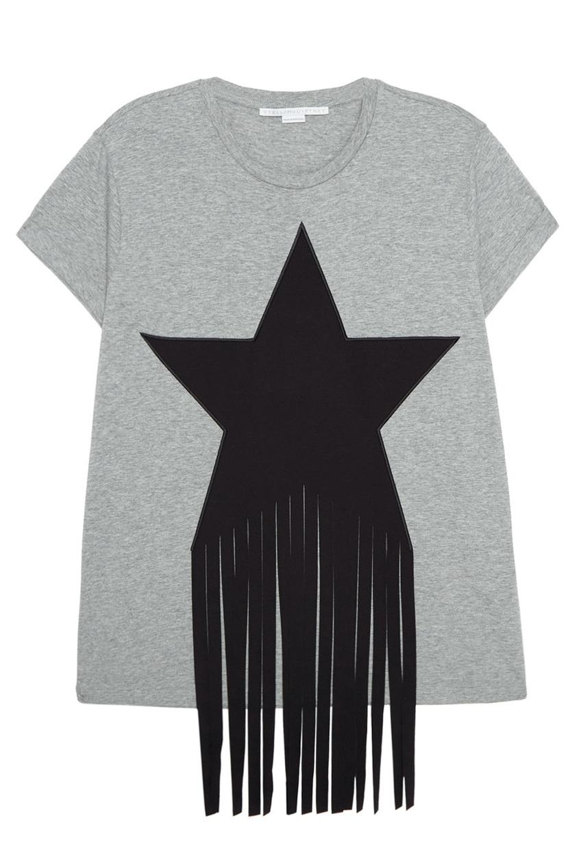 Stella McCartney Футболка со звездой