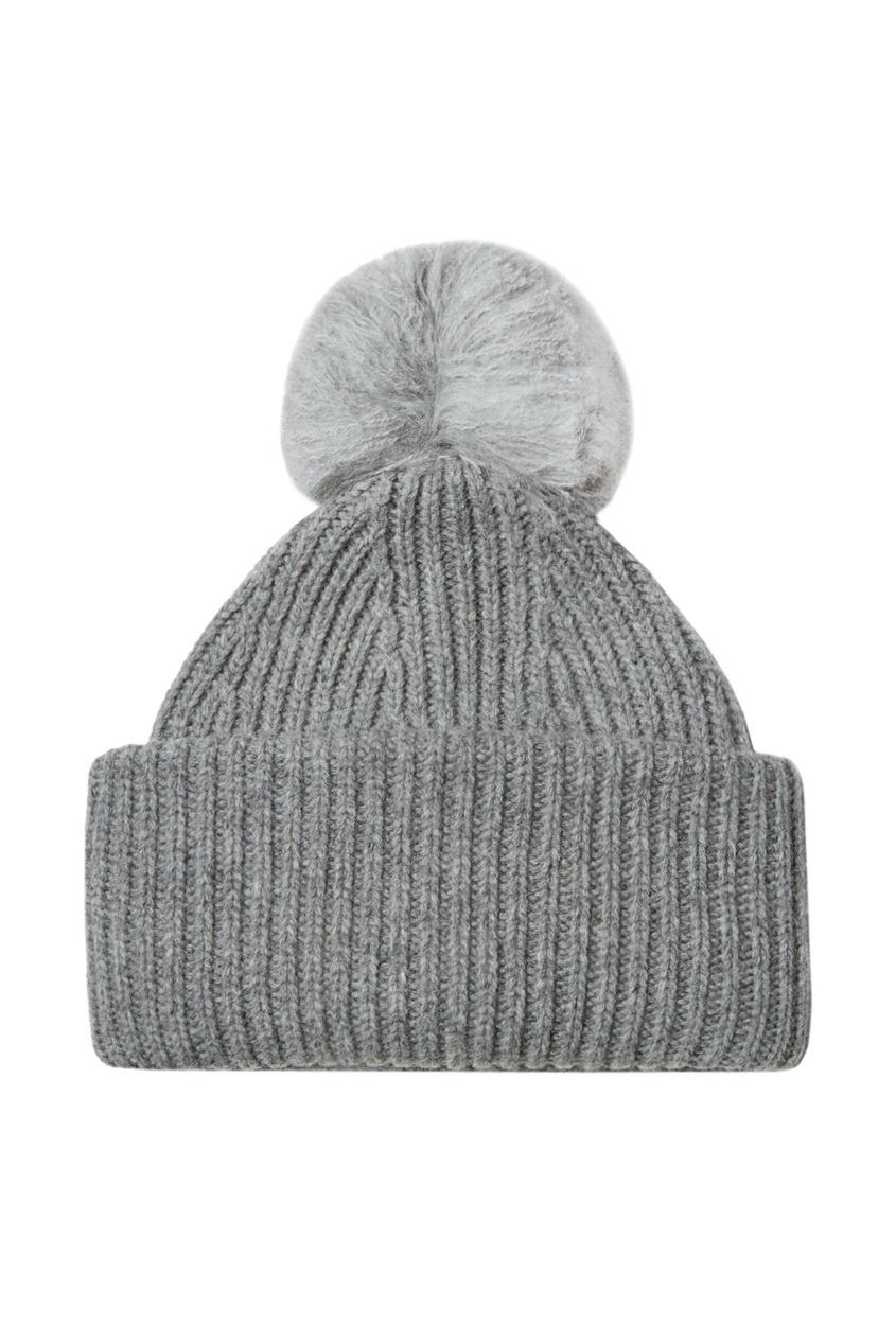 Acne Studios Вязаная шапка в рубчик Solia acne studios серый шарф в рубчик abby