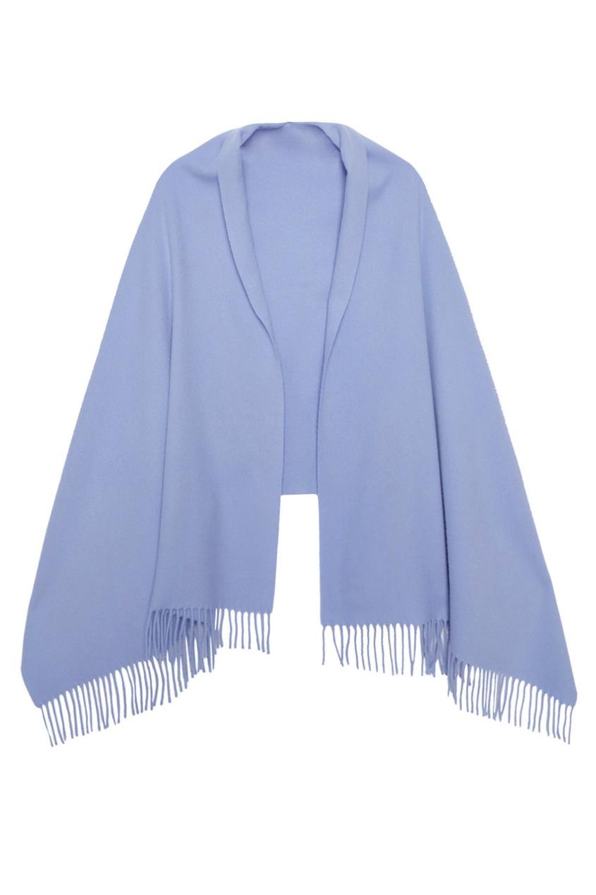 Acne Studios Сиреневый шарф с бахромой Canada цены онлайн