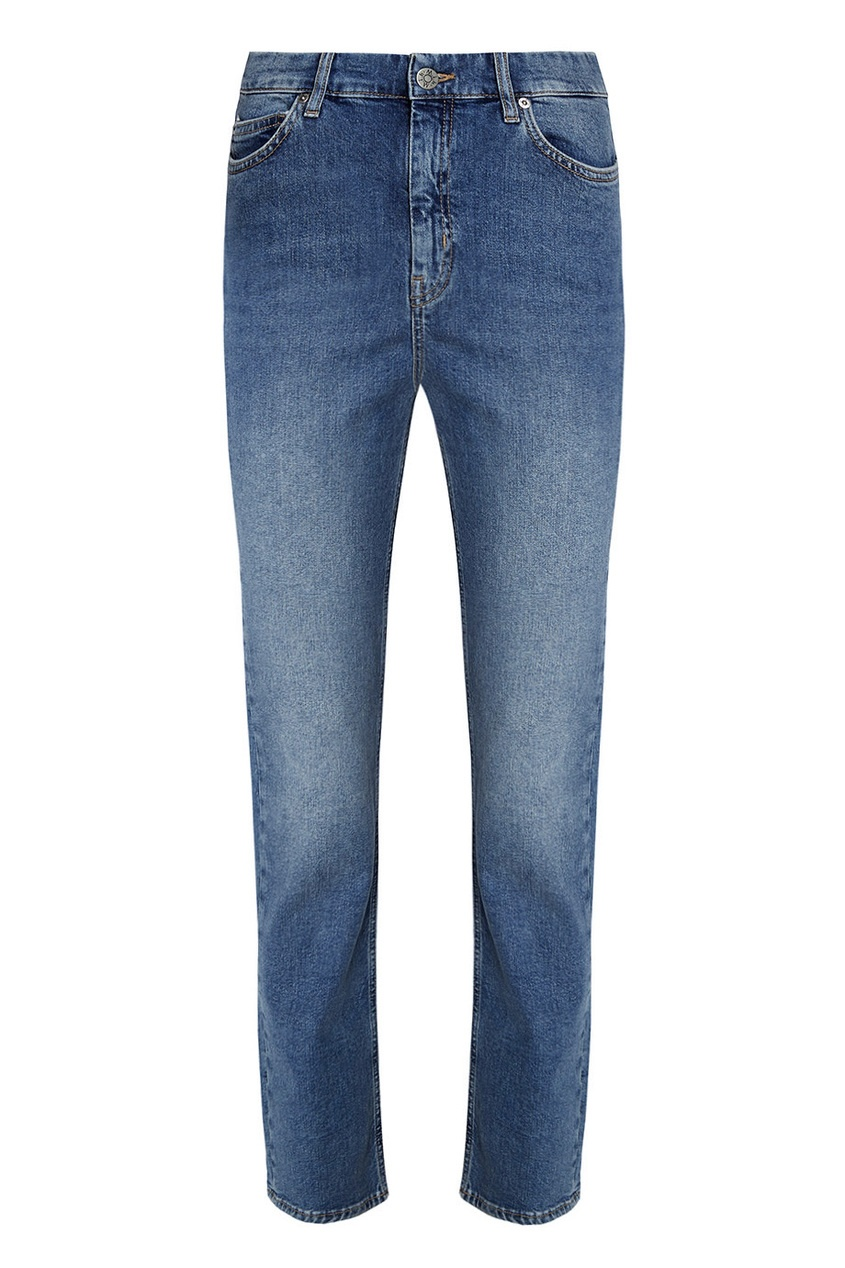MiH jeans Потертые джинсы-скинни Daily mih jeans джинсы скинни с прорезными карманами paris