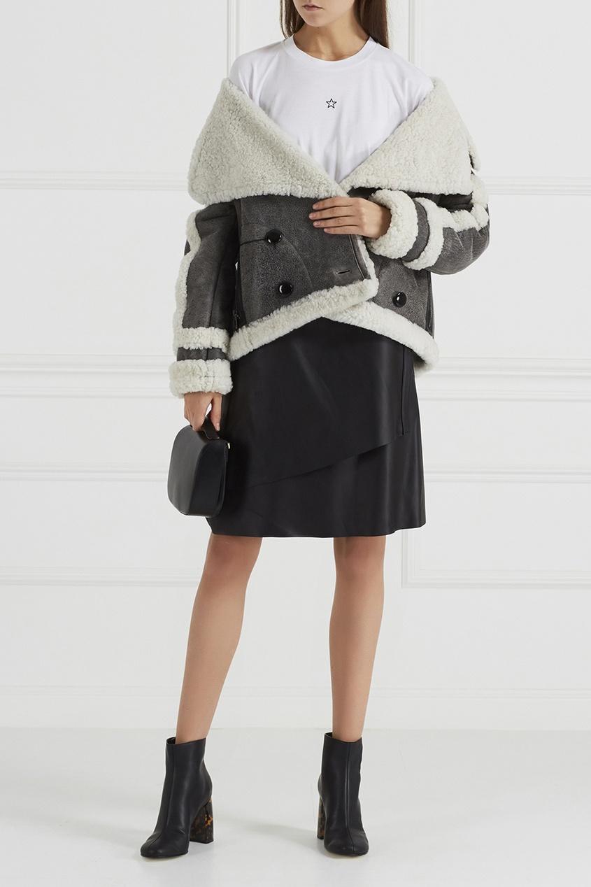 Stella McCartney Ботильоны на «черепаховом» каблуке цены онлайн
