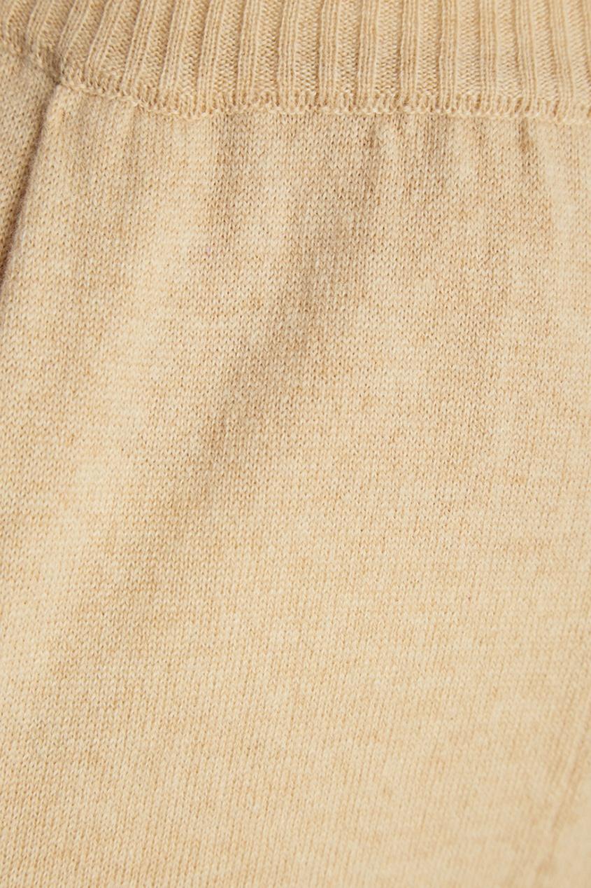 Alena Akhmadullina Бежевые брюки из кашемира alena akhmadullina шерстяные брюки