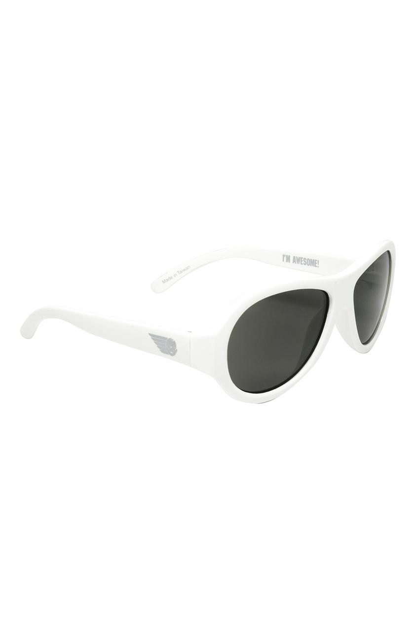 Babiators Белые солнцезащитные очки babiators limited polarized жизнь копакабана copacabana life 0 3