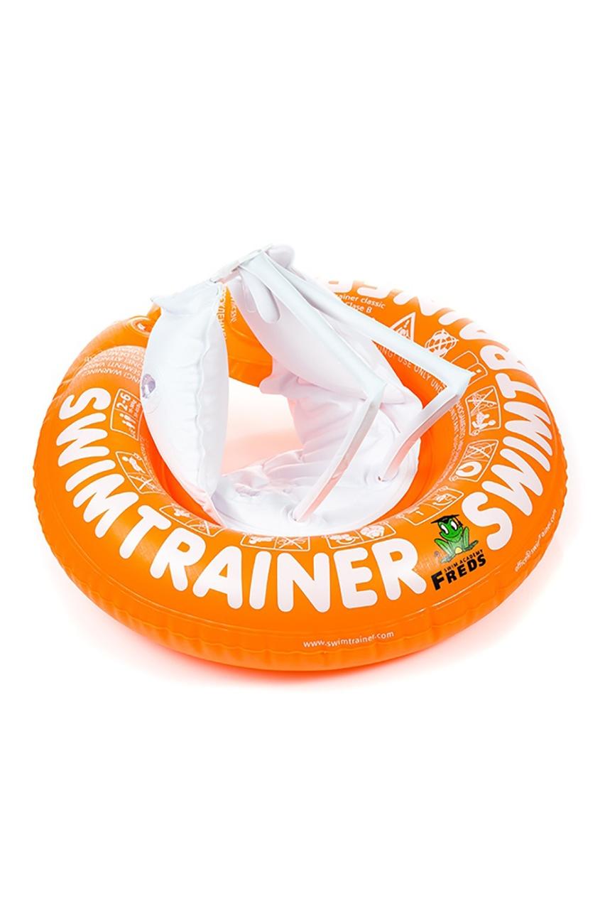 Оранжевый надувной круг