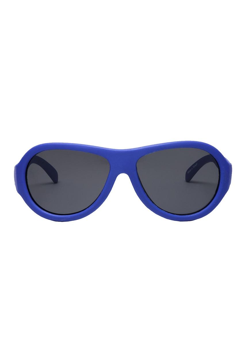 Синие солнцезащитные очки