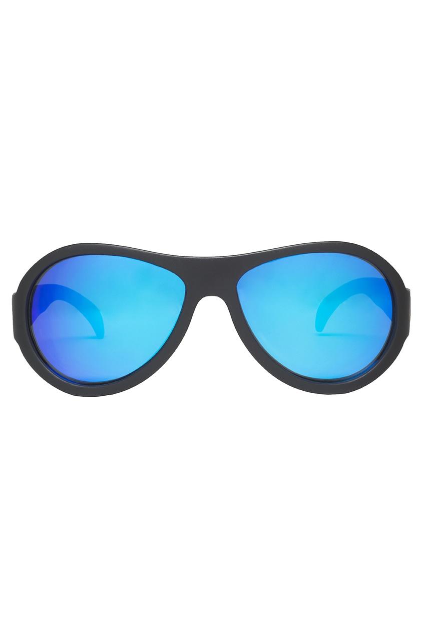 Очки с синими зеркальными линзами