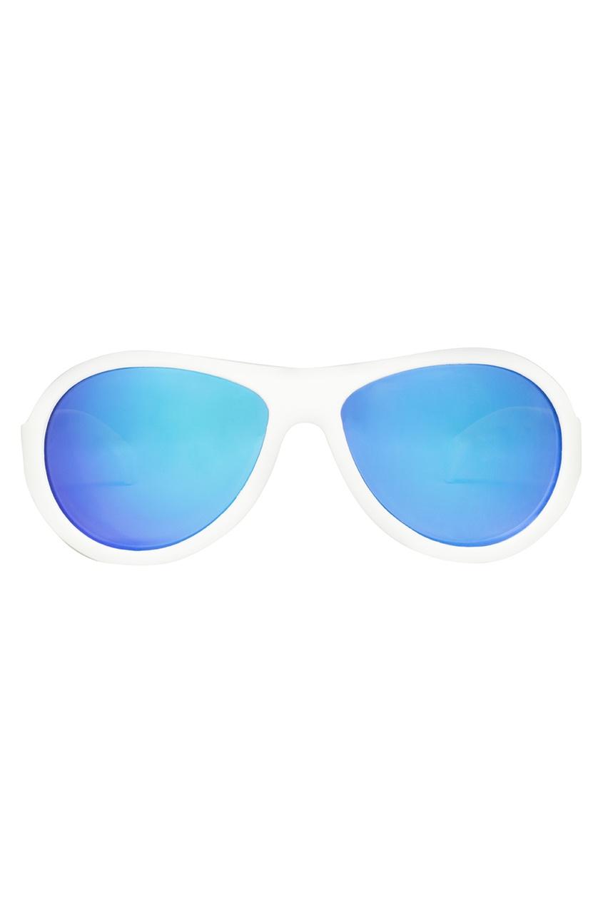 Babiators Белые зеркальные очки очки babiators