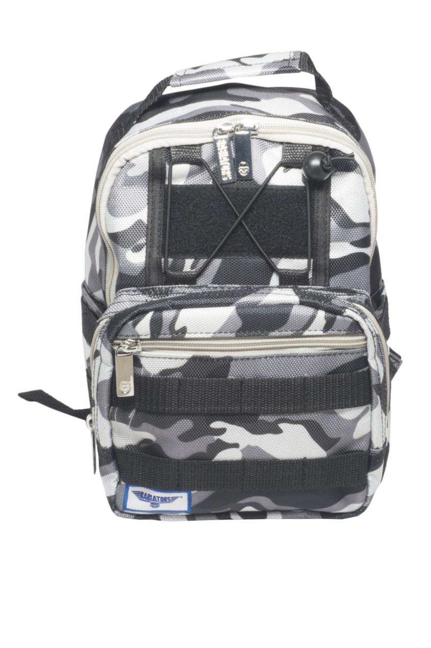 Babiators Детский рюкзак с принтом рюкзак babiators rocket pack 1 5 4 года 30х20х14 цвет камуфляж galactic gray camo bab 072