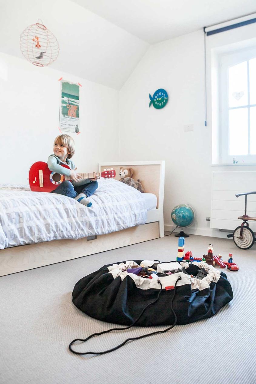Детский коврик и мешок для игрушек