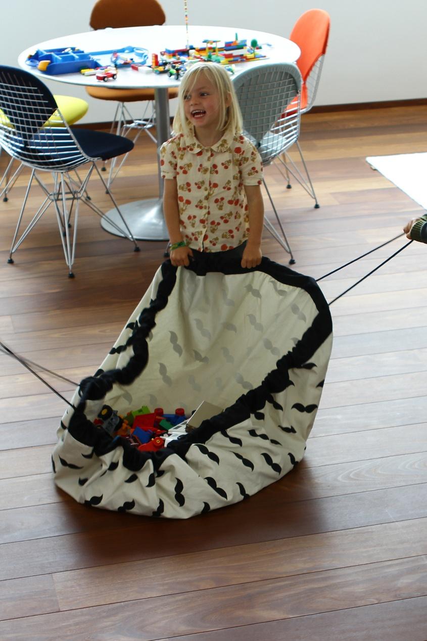 Play&Go Игровой коврик и мешок для игрушек one touch go play