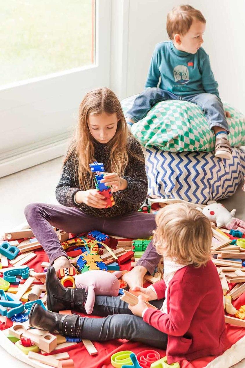 Мешок для игрушек и игровой коврик