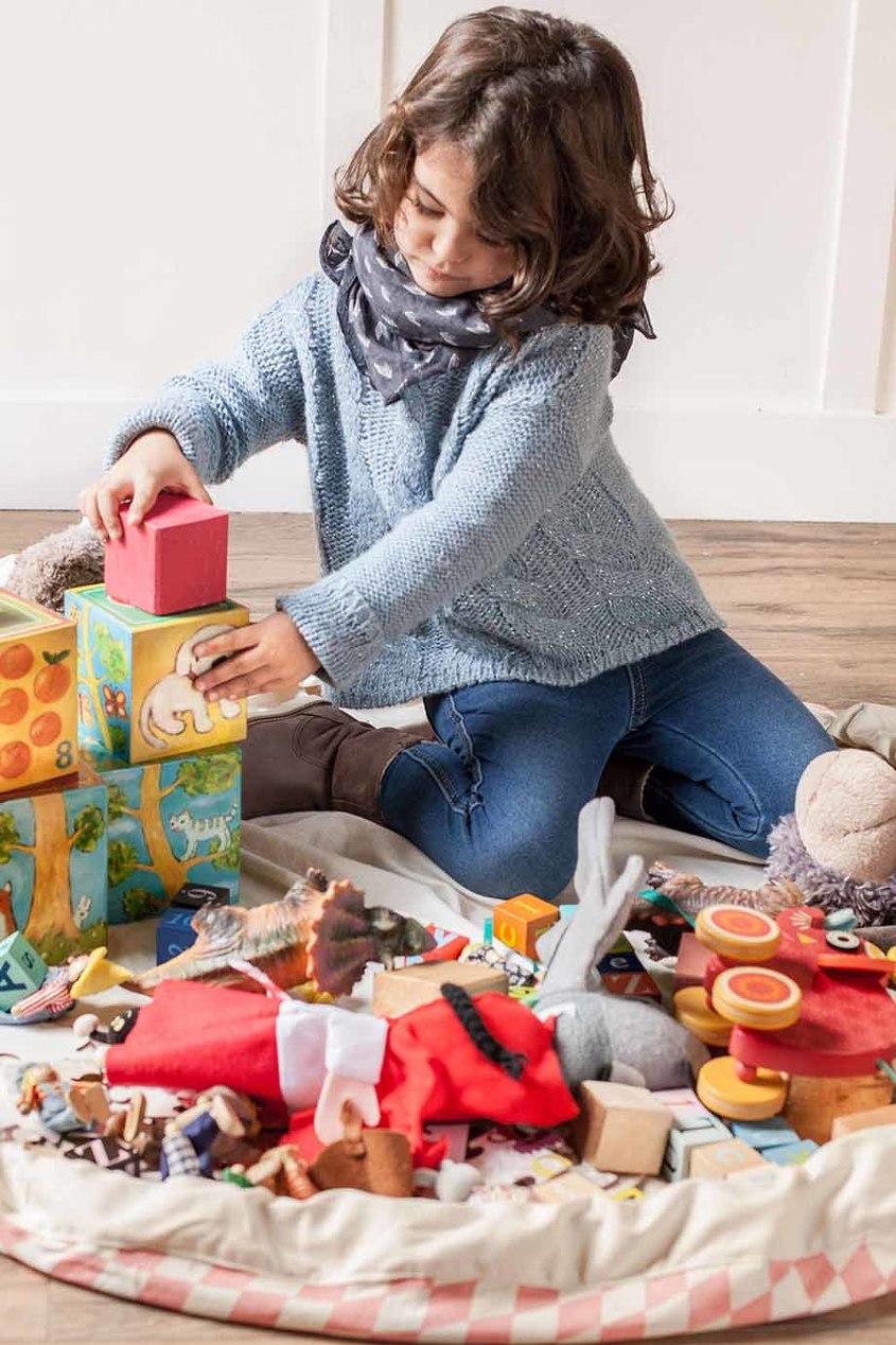 Игровой коврик и мешок для игрушек