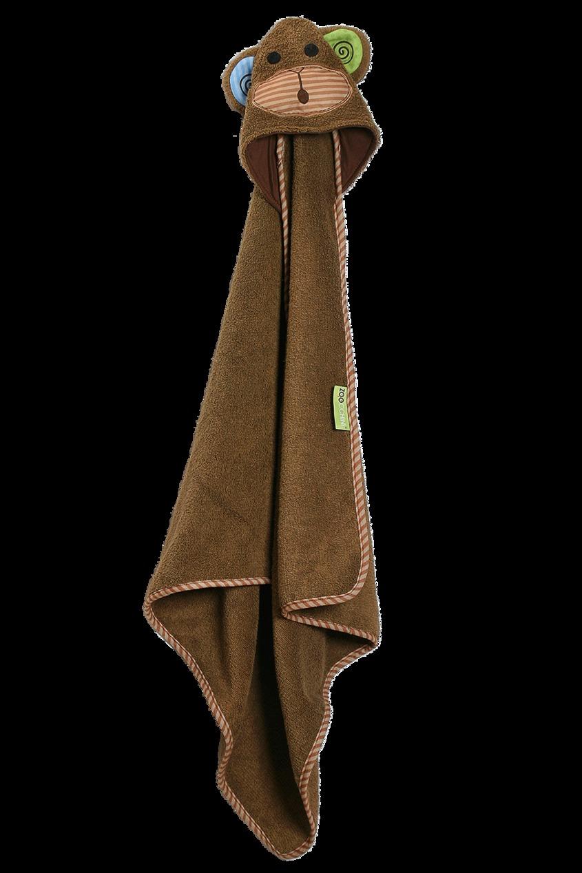 Детское полотенце с декоративным капюшоном