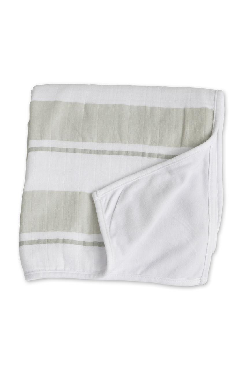 где купить  Lulujo Детское одеяло в полоску  по лучшей цене