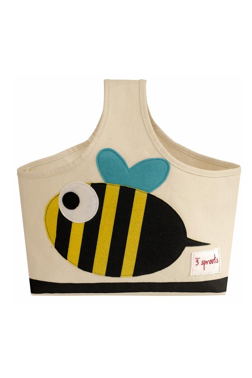 3 Sprouts Сумка для хранения детских вещей «Пчелка» сумка пчелка uni