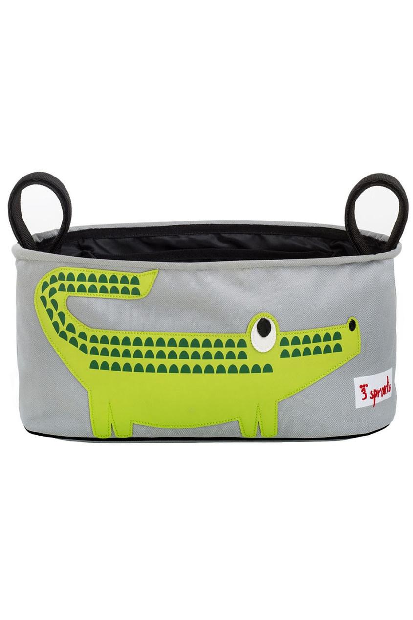 3 Sprouts Сумка-органайзер для коляски «Крокодил»