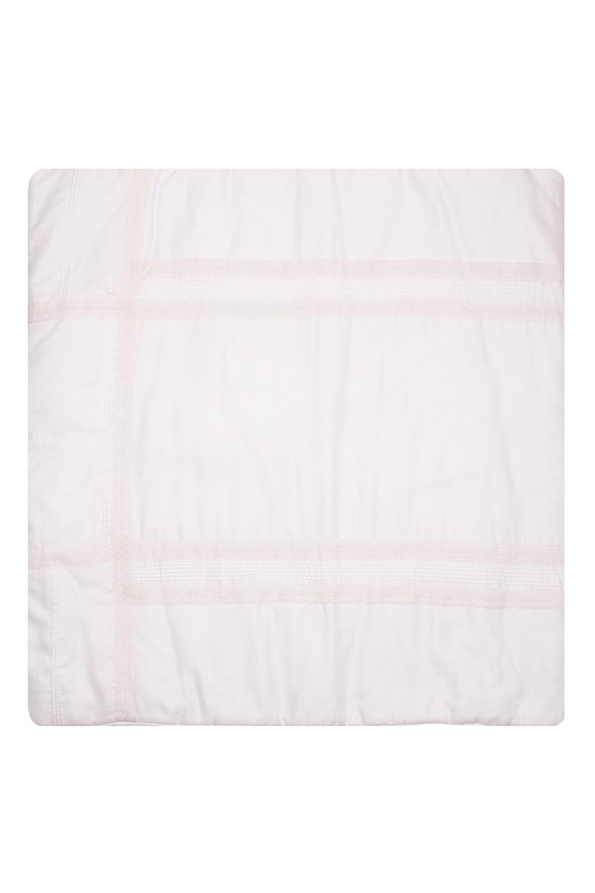 Dior Children Розовый плед с кружевом baby dior 381858