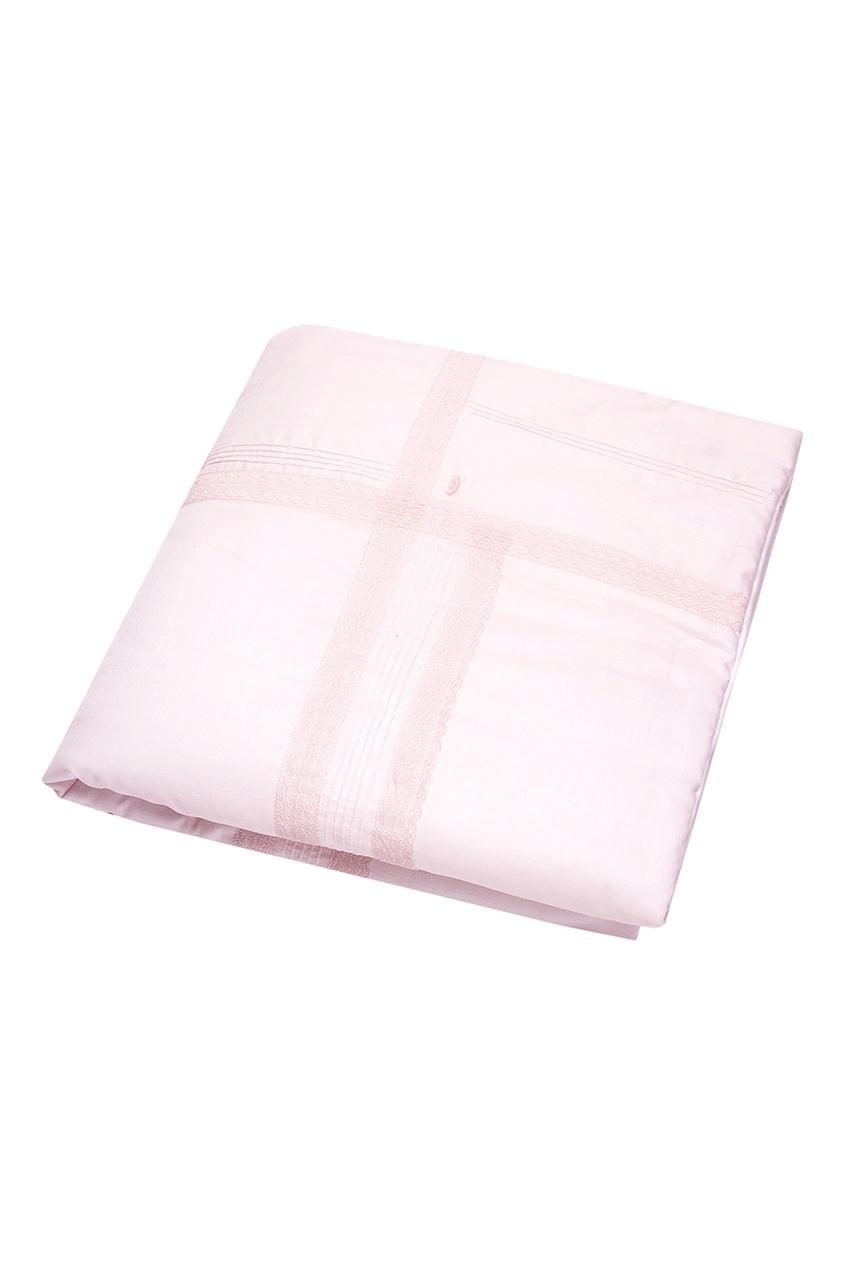 Dior Children Розовый плед с кружевом dior children жакет с расклешенным подолом