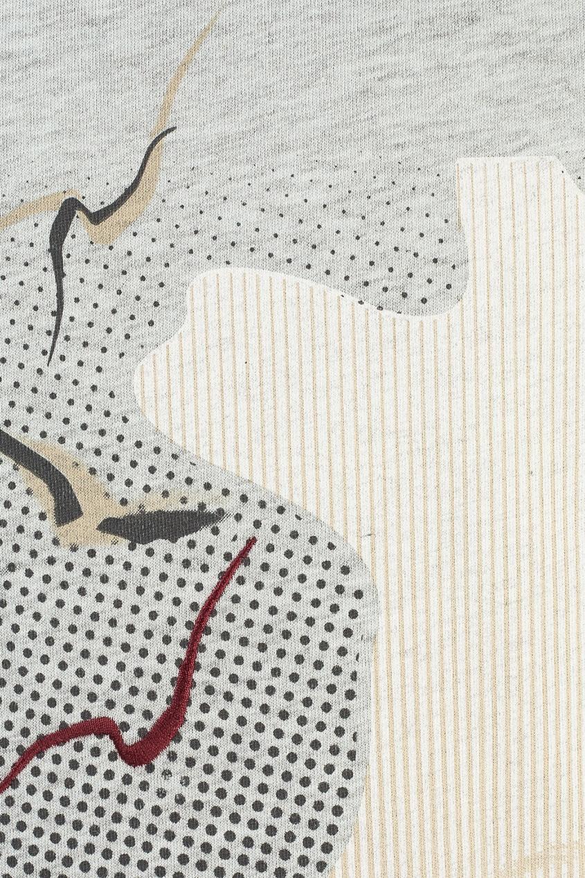 Dior Children Лонгслив с принтом и вышивкой dior homme шарф