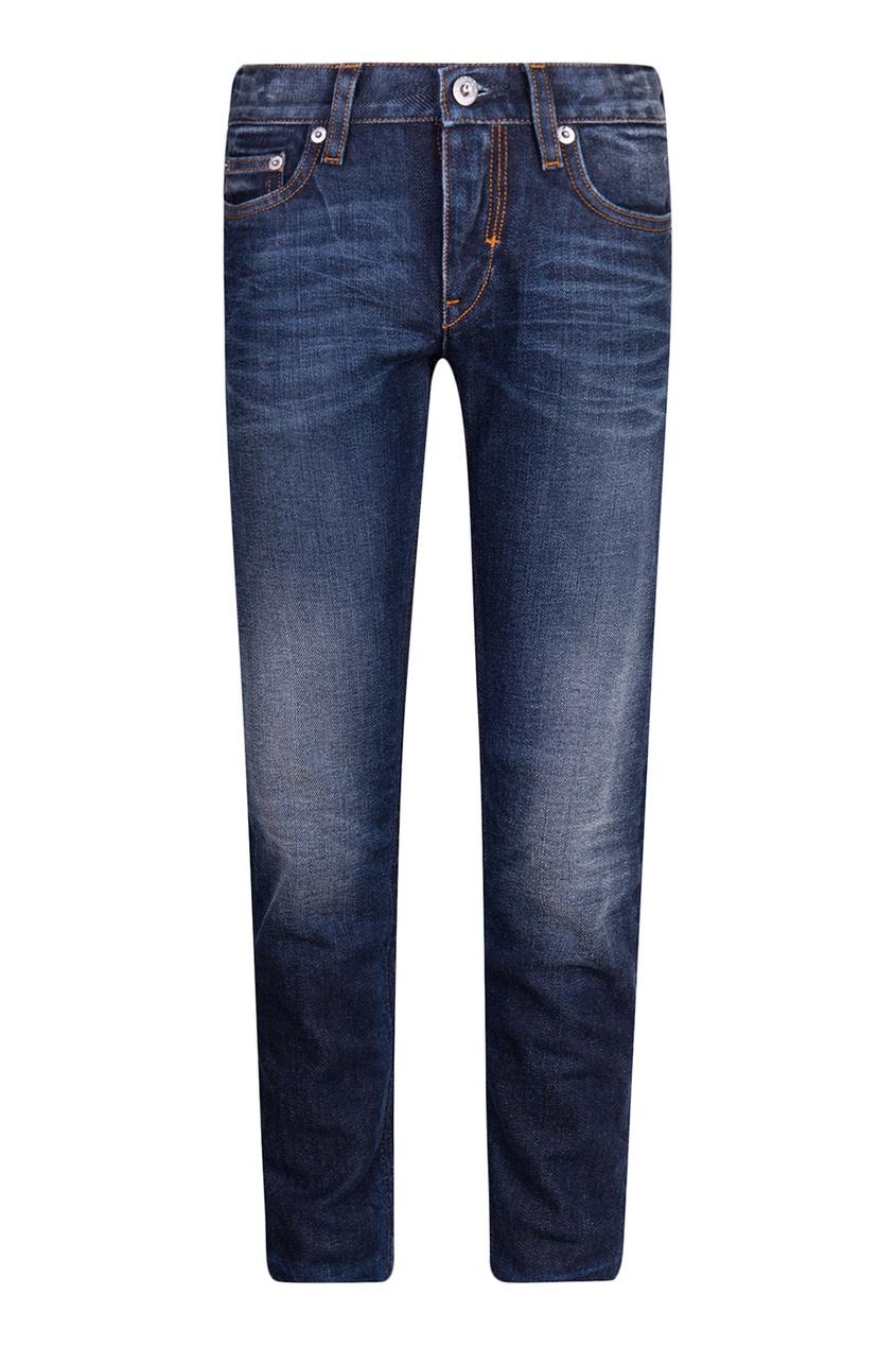 Фактурные детские джинсы