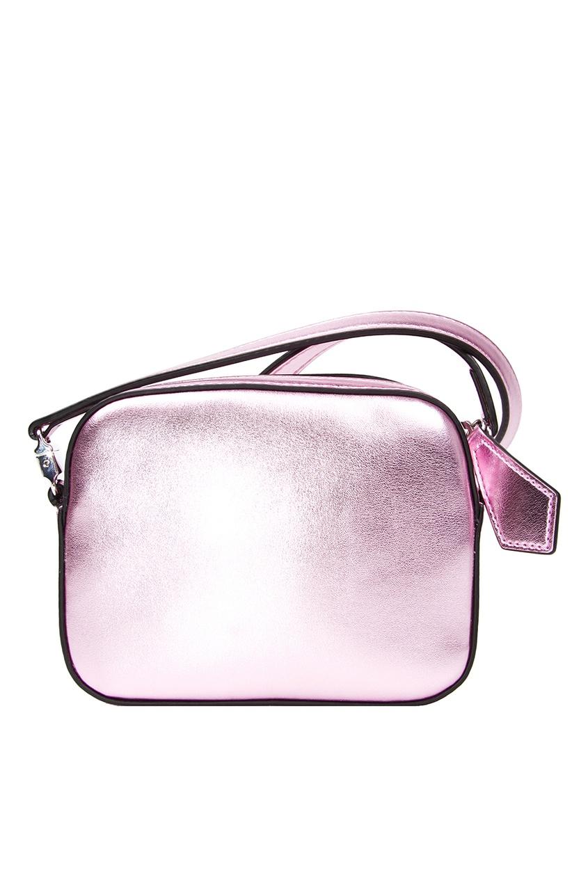 купить Gucci Children Блестящая сумка с аппликацией по цене 35450 рублей