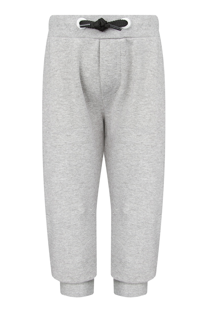Меланжевые брюки с кулиской