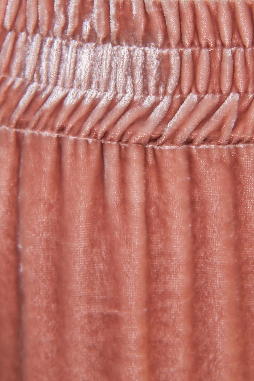 Вельветовые брюки с кулиской