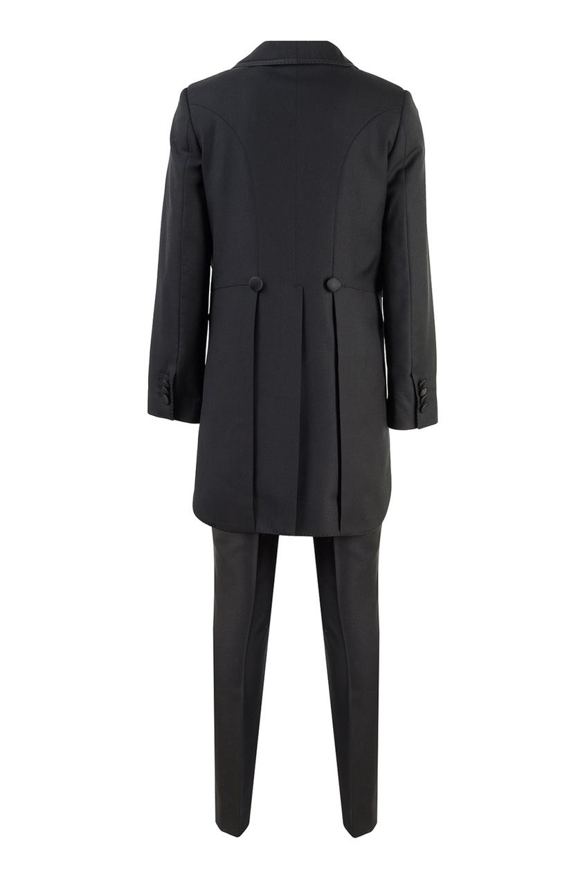 костюм с короткими штанами dolce & gabbana костюм с короткими штанами Dolce&Gabbana Children Черный вечерний костюм