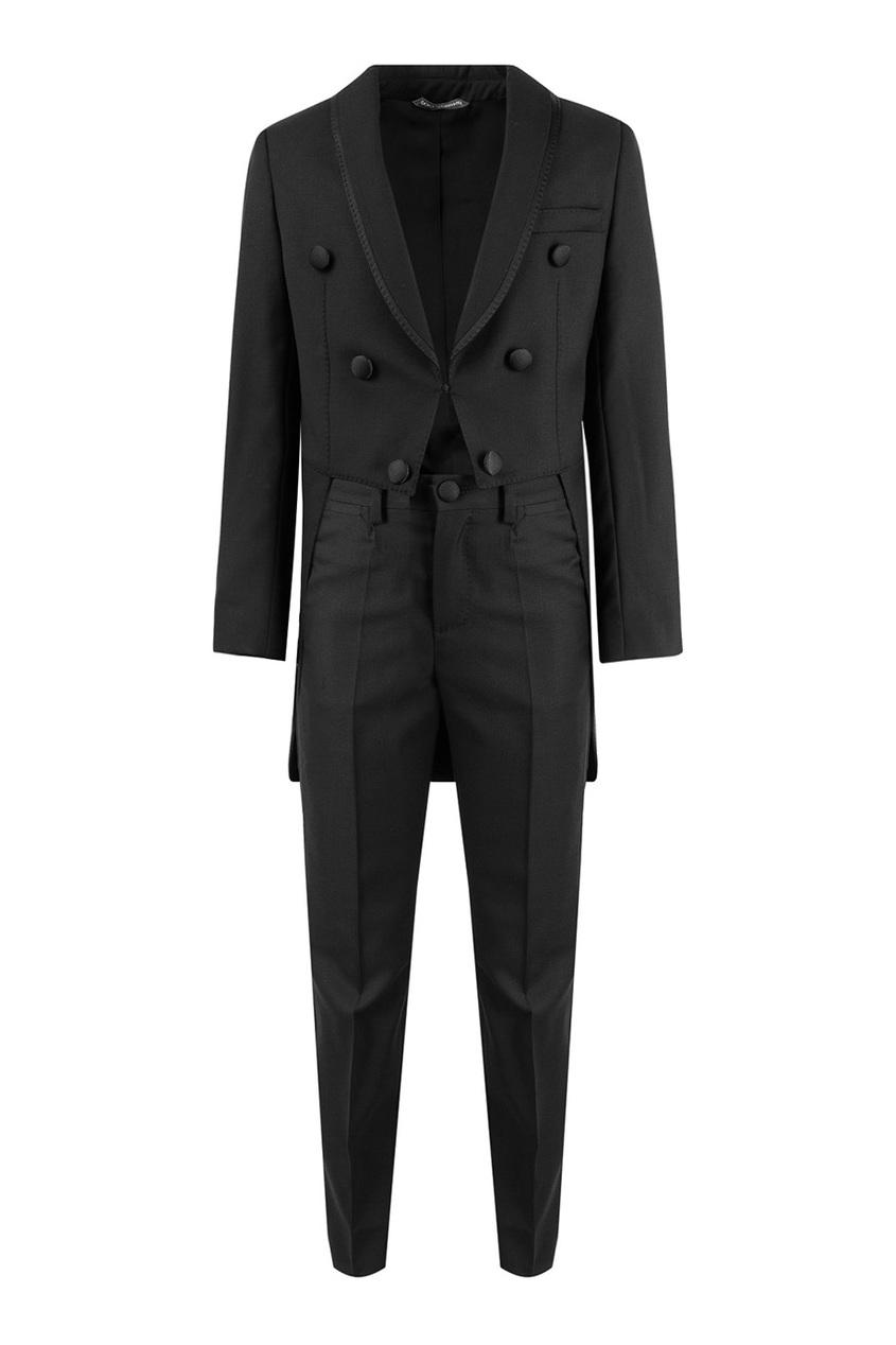 Dolce&Gabbana Children Черный вечерний костюм